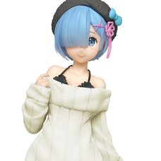 Precious Figure Re:Zero -Starting Life in Another World- Rem: Knit Dress Renewal Ver.