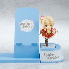 Choco Sta Amairo IsleNauts Shirley Warwick Figure & Smartphone Stand