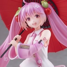 Sakura Miku 2nd Season: Japanese Umbrella Ver. Non-Scale Figure