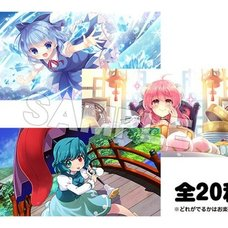 Touhou Lost Word Trading Picture Card Collection Vol. 2 Box Set