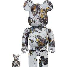 BE@RBRICK Jackson Pollock Studio (Splash) 100% & 400% Set