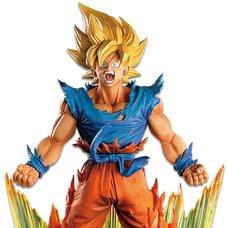 Dragon Ball Z Super Master Stars Diorama Son Goku: The Brush