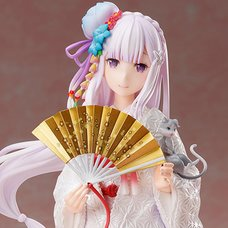 Re:Zero -Starting Life in Another World- Emilia: White Kimono Ver. 1/7 Scale Figure
