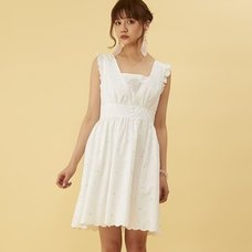 Honey Salon Flower Embroidery Dress