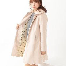 earth music&ecology Scallop Coat