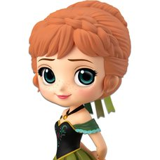 Q Posket Disney Characters Frozen Anna: Coronation Style (Ver. A)