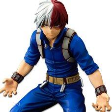 My Hero Academia Banpresto World Figure Colosseum Modeling Academy Super Master Stars Piece Shoto Todoroki: The Brush