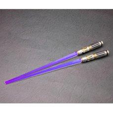 Mace Windu Light-Up Ver. Lightsaber Chopsticks | Star Wars