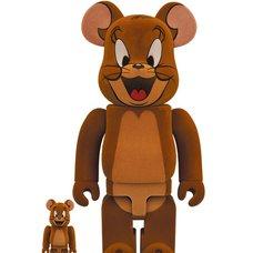 BE@RBRICK Tom and Jerry Jerry Flocky 100% & 400% Set