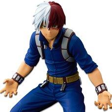 My Hero Academia Banpresto World Figure Colosseum Modeling Academy Super Master Stars Piece Shoto Todoroki: The Anime