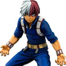 My Hero Academia Banpresto World Figure Colosseum Modeling Academy Super Master Stars Piece Shoto Todoroki: Manga Dimensions