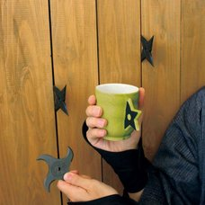 Ninja Star Mug
