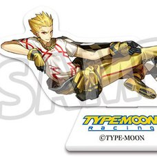 TYPE-MOON Racing Gilgamesh Acrylic Stand