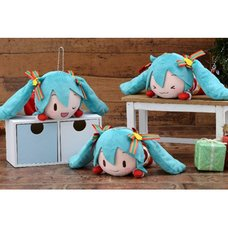 Lying Down Plush Hatsune Miku: Christmas 2019