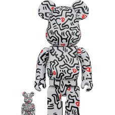 BE@RBRICK Keith Haring Vol. 8 100% & 400% Set