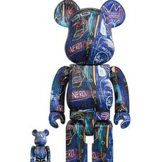BE@RBRICK Jean Michel Basquiat Vol. 7 100% & 400% Set