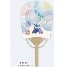 Natsume's Book of Friends Nyanko-sensei Fireworks Oval Fan