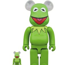 BE@RBRICK The Muppets Kermit the Frog 100% & 400% Set