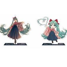 Hatsune Miku x Tokyo 150 Years Festival Collaboration Acrylic Stand