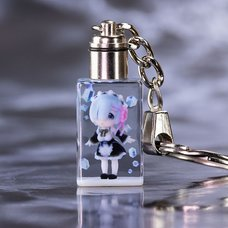 Re:Zero -Starting Life in Another World- Rem Full-Color 3D Crystal Keychain