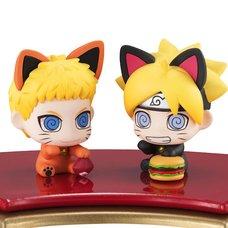 Petit Chara Land Boruto: Naruto Next Generations Manekineko Oyako Maneki Dattebasa! Figure Set