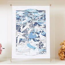 CLAMP 30th Anniversary xxxHolic Chara-Kirie Paper-Cut Artwork