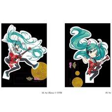 Hatsune Miku x Hard Rock Family Live Collaboration Acrylic Stand