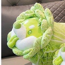 Vegetable Fairy Series Cabbage Dog 45cm Plush