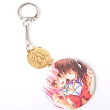 Eshi 100 Exhibit 04 Double Charm Keyholder - Sweets and Cat-Eared Girls