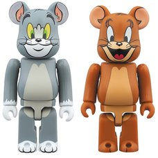 BE@RBRICK Tom & Jerry 100% 2-Pack