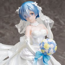 Re:Zero -Starting Life in Another World- Rem: Wedding Dress 1/7 Scale Figure