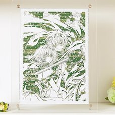 CLAMP 30th Anniversary Tsubasa: Reservoir Chronicle Chara-Kirie Paper-Cut Artwork