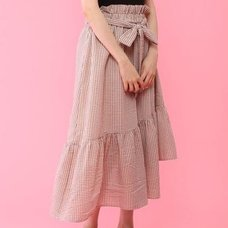 Honey Salon Irregular Hem Skirt
