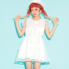 Swankiss Flower Organdy Dress