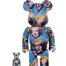 BE@RBRICK Andy Warhol Marilyn Monroe 100% & 400% Set