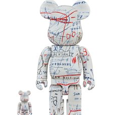 BE@RBRICK Jean-Michel Basquiat Vol. 2 100% & 400%