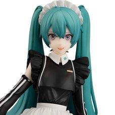 Hatsune Miku: Sporty Maid Ver. Noodle Stopper Figure