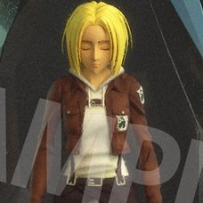 Attack on Titan Annie Leonhart: Crystal Ver. Full Color 3D Crystal Figure