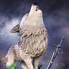Dark Souls The Great Grey Wolf Sif: Standard Edition SD Statue