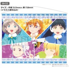 Love Live! Superstar!! Yuigaoka Girls' High School Store Official Memorial Item Vol. 12: Song for All Tapestry