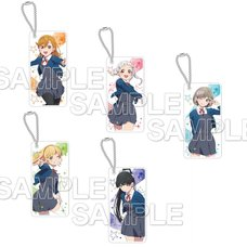Chara Clear Love Live! Superstar!! Acrylic Keychain Collection