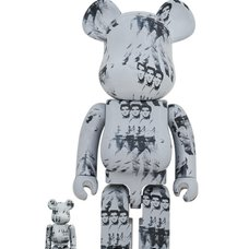 BE@RBRICK Andy Warhol's Elvis Presley 100% & 400% Set