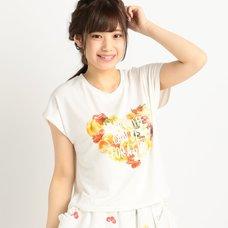 LIZ LISA Fruit Print T-Shirt