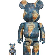 BE@RBRICK Van Gogh Museum Self Portrait 100% & 400% Set