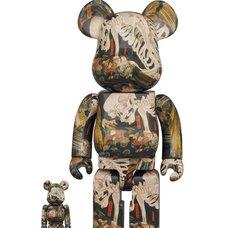 BE@RBRICK Utagawa Kuniyoshi The Haunted Old Palace at Soma 100% & 400% Set