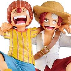 Ichibansho Figure One Piece Legends Over Time Shanks & Buggy