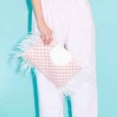 Swankiss Shell Clutch