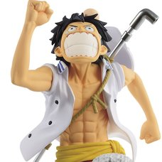 One Piece Magazine Figure -Piece of a Dream No. 1- Vol. 3: Monkey D. Luffy
