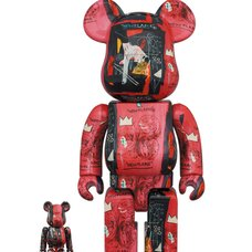 BE@RBRICK Andy Warhol × Jean-Michel Basquiat Vol. 1 100% & 400% Set