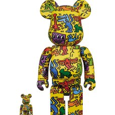 BE@RBRICK Keith Haring Vol. 5 100% & 400% Set